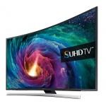 Televizor curbat SUHD Smart LED Ultra HD 3D, 138 cm, SAMSUNG UE55JS8500LXXH