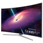 Televizor curbat SUHD Smart LED Ultra HD 3D, 138 cm, SAMSUNG UE55JS9000LXXH