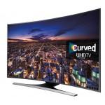 Televizor curbat Smart LED Ultra HD, 138 cm, SAMSUNG  UE55JU6500WXXH