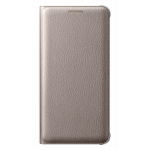 Husa Flip Wallet Samsung Galaxy A3 (2016), Gold