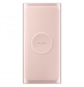 Baterie portabila Wireless Samsung, 10000 mAh, Type-C, Fast Charge, Pink