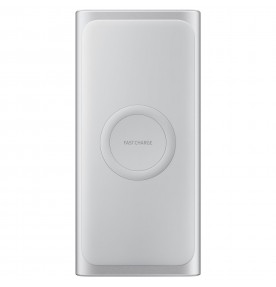 Baterie portabila Wireless Samsung, 10000 mAh, Type-C, Fast Charge, Silver