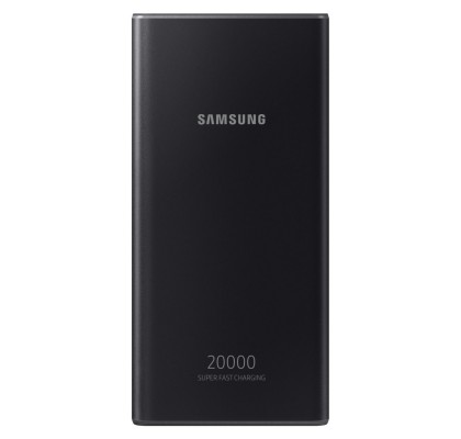 Baterie portabila Samsung EB-P5300, 20000 mAh, 25W, Type-C,Super Fast Charge, Dark Gray