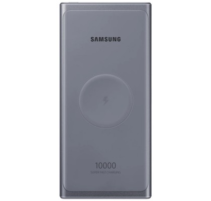 Baterie portabila Wireless Samsung, 10000 mAh, 25W, Type-C,Super Fast Charge, Gray