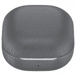 Husa Leather Cover pentru Samsung Galaxy Buds Live, Gray