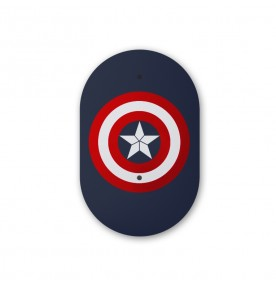 KeyCo Tracking Card Mini Bluetooth, Captain America
