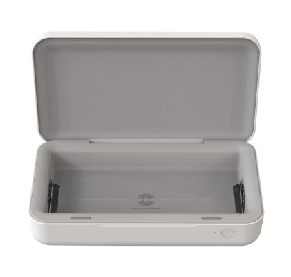 Sterilizator UV cu incarcare wireless (cablu USB Type-C), 10W, White