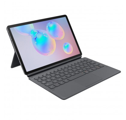 Husa Keyboard Cover Samsung Galaxy Tab S6 10.5, Grey