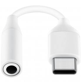 Adaptor Samsung de la Type-C la Jack 3.5 mm, White