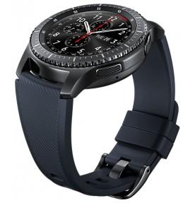 Curea Samsung Gear S3, Standard Size M, Blue Black