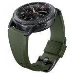 Curea Samsung Gear S3, Standard Size M, Khaki Green