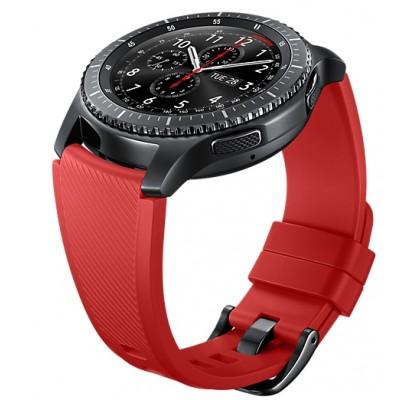 Curea Samsung Gear S3, Standard Size M, Orange Red