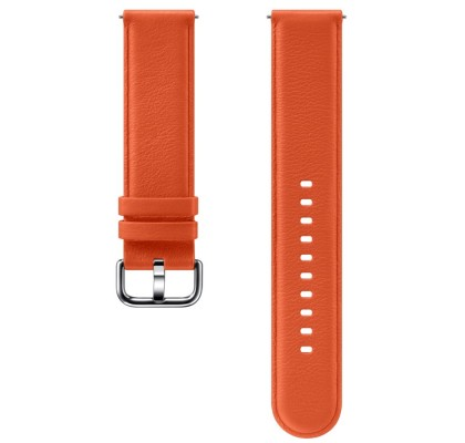 Curea Leather Samsung Galaxy Watch, 42mm, Orange