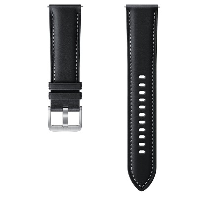 Curea Leather Samsung Galaxy Watch 3 (M/L), 22mm, Black