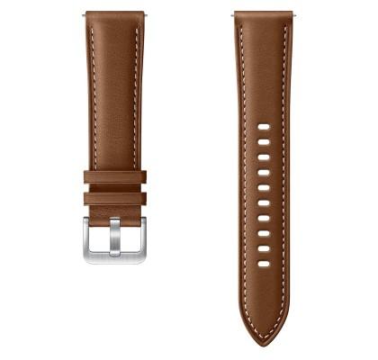 Curea Leather Samsung Galaxy Watch 3 (S/M), 20mm, Brown