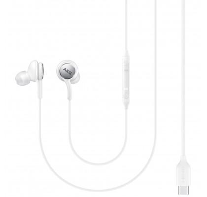Casti audio Samsung AKG EO-IC100, Stereo, White