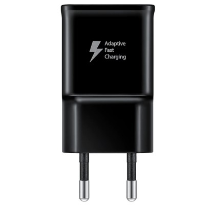Incarcator retea (fara cablu), 15W, Fast Charger, Black