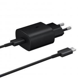 Incarcator retea USB Type-C, 25W, Super Fast Charger, Black
