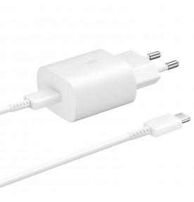 Incarcator retea USB Type-C, 25W, Super Fast Charger, White