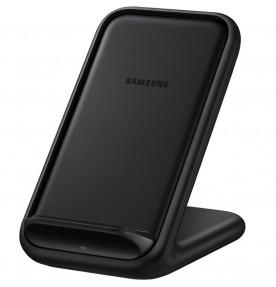 Stand incarcare rapida wireless (cu incarcator retea) 15W, Black