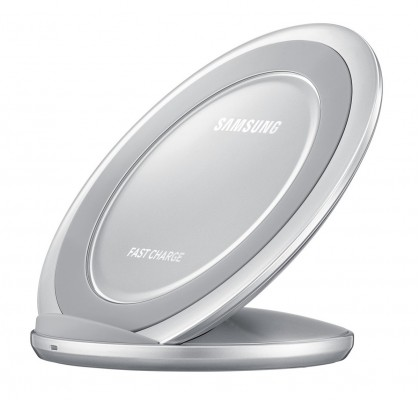 Incarcator wireless Samsung, Fast Charger, Silver