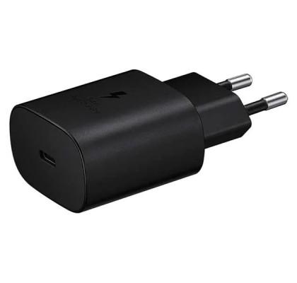 Incarcator retea (fara cablu), Super Fast Charging, 25W, Black