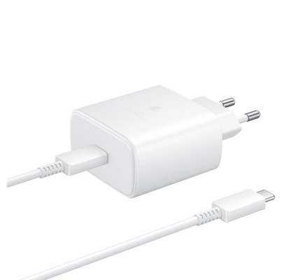 Incarcator retea USB Type-C, 45W, Super Fast Charger, White