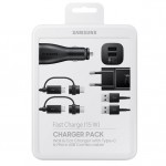 Pachet Incarcare Samsung (car adapter, travel adapter, data cable combo), Black