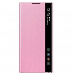 Husa Clear View Cover Samsung Galaxy Note 10, Pink