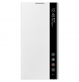 Husa Clear View Cover Samsung Galaxy Note 10, White