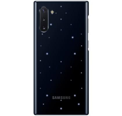 Husa LED Cover pentru Samsung Galaxy Note 10, Black