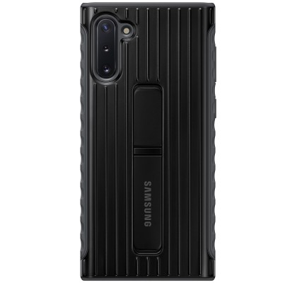 Husa Protective Standing Cover Samsung Galaxy Note 10, Black
