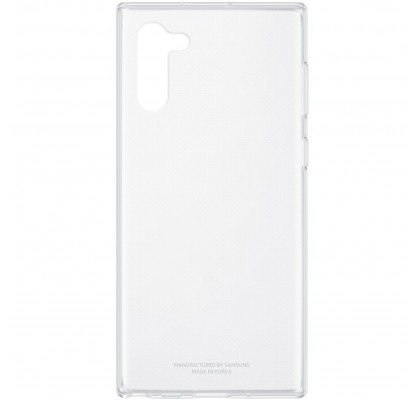 Husa Protective Cover Clear Samsung Galaxy Note10 Plus, Transparent