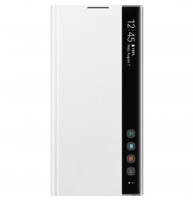 Husa Clear View Cover Samsung Galaxy Note 10+, White