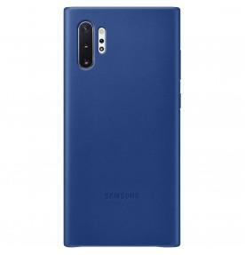 Husa Leather Cover pentru Samsung Galaxy Note 10+, Blue