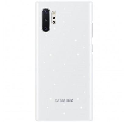 Husa LED Cover pentru Samsung Galaxy Note 10+, White