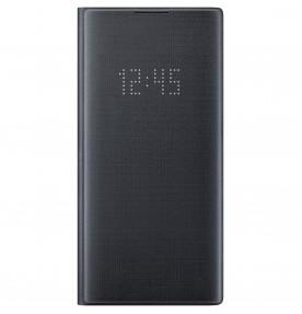 Husa LED View Cover pentru Samsung Galaxy Note 10+, Black