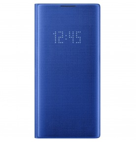 Husa LED View Cover pentru Samsung Galaxy Note 10+, Blue