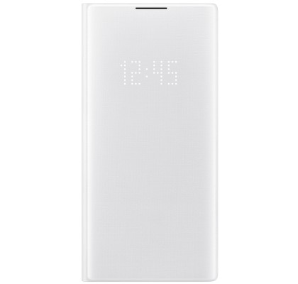 Husa LED View Cover pentru Samsung Galaxy Note 10+, White