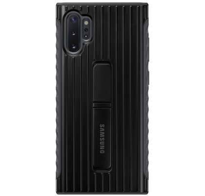 Husa Protective Standing Cover Samsung Galaxy Note 10+, Black