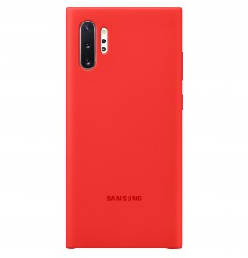 Husa Silicone Cover pentru Samsung Galaxy Note 10+, Red