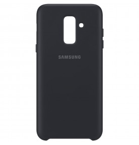 Husa Dual Layer Cover Samsung Galaxy A6 Plus (2018), Black