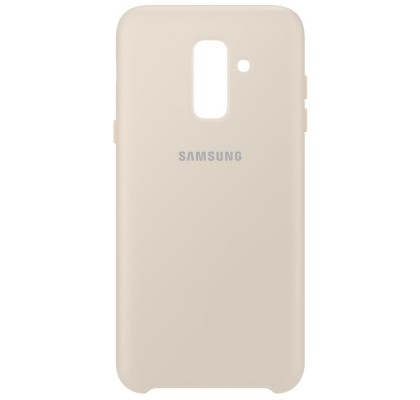 Husa Dual Layer Cover Samsung Galaxy A6 Plus (2018), Gold