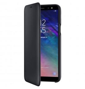 Husa Flip Wallet Samsung Galaxy A6 (2018), Black
