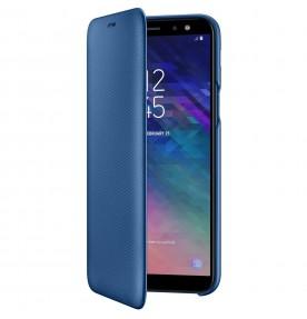 Husa Flip Wallet Samsung Galaxy A6 (2018), Blue