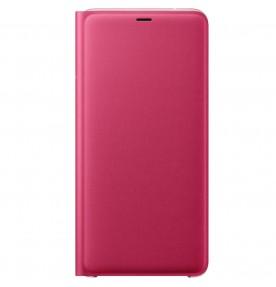 Husa Flip Wallet Samsung Galaxy A9 (2018), Pink