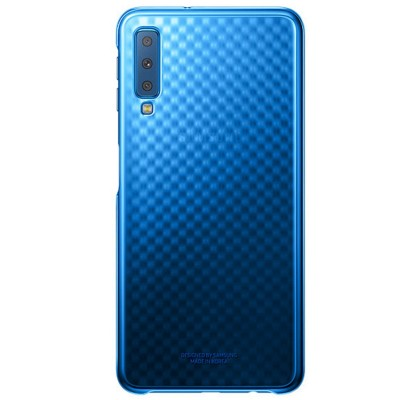 Husa Gradation Cover Samsung Galaxy A7 (2018), Blue