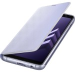Husa Flip Cover Neon Samsung Galaxy A8 (2018), Orchid Gray