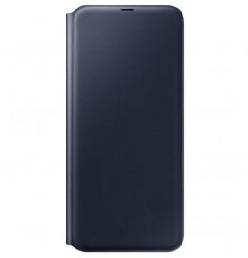 Husa Flip Wallet Samsung Galaxy A70, Black