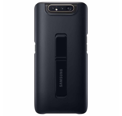 Husa Protective Standing Cover Samsung Galaxy A80 (2019), Black